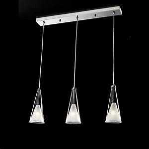 Suspension Luminaire Cuisine : suspension 3 lampes pour cuisine luminaire suspension triple marchesurmesyeux ~ Teatrodelosmanantiales.com Idées de Décoration