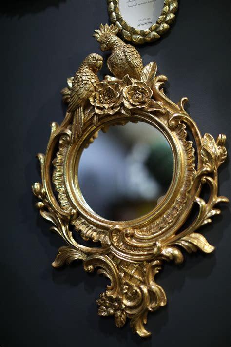 Spogulis ar diviem papagaiļiem - Lakstos