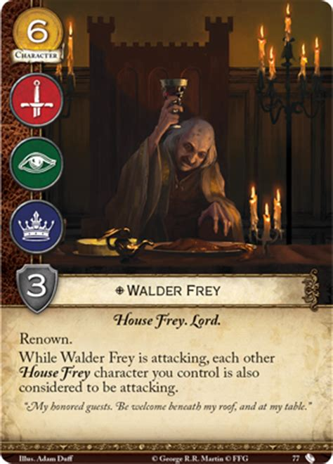 game  thrones  edition lcg spoilers