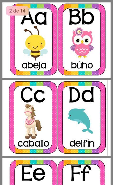 Abecedario en 2020 Enseñar a los niños las letras
