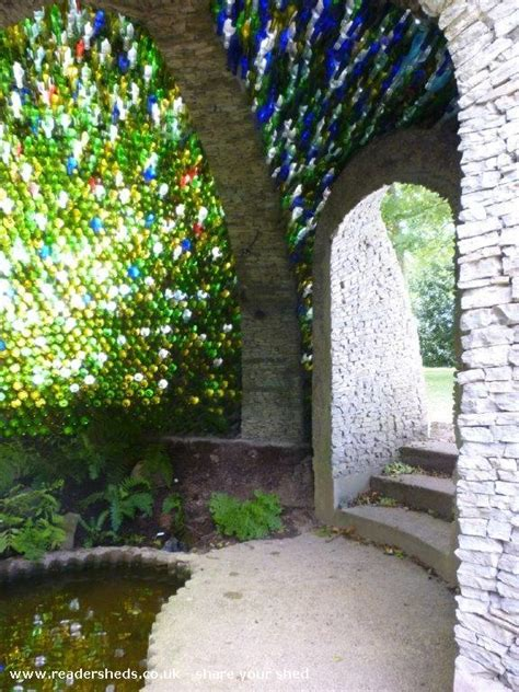 bottle dome natures haven  garden owned  richard
