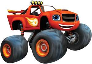 Blaze and the Monster Machines Decal Removable Wall Sticker Decor Art Mural 002 C825, Large