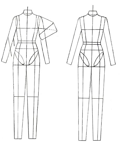 flat drawing templates simon killens fashion blog