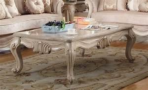 mcferran sf8701 natalie marble top coffee table antique beige With beige marble coffee table