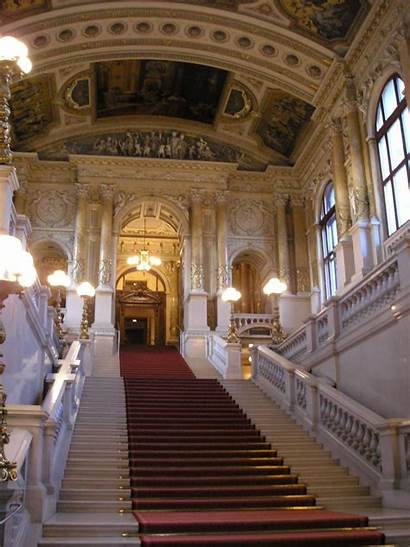 Burgtheater Inside Vienna Stairs Interior 2006 September