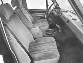 vintage range rover interior land rover range rover classic car review honest john