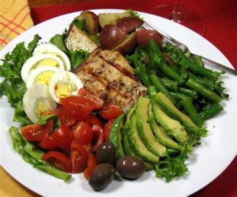 cuisine nicoise nicoise salad with grilled tuna recipe food com