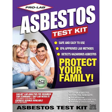 pro lab asbestos test kit   home depot