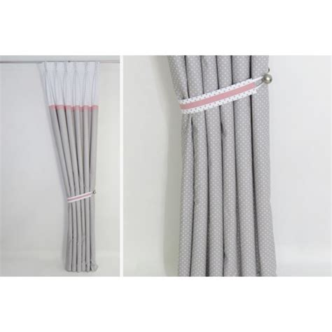 gray and pink curtains pink and gray nursery curtains