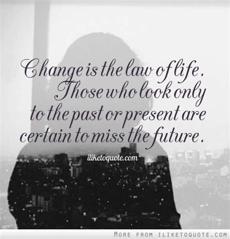 change   law  life