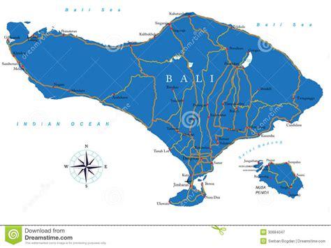 bali map royalty  stock photography image