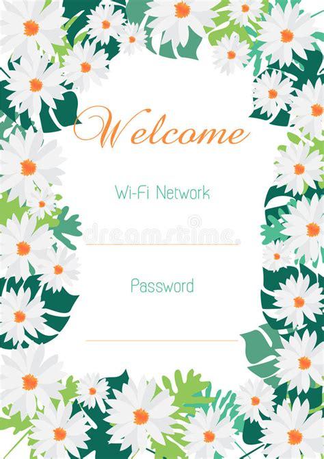 wifi internet hotspot password graphic design