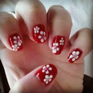 Nail art how to do hawaiian style nails tutorial