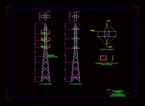 transmission   kv dwg block  autocad designs cad
