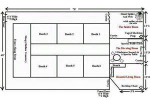 layout of house haunted house layout