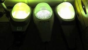 Stop Turn And Lights Mercury Vapor Mv Street Lights Turning On 2011 Youtube