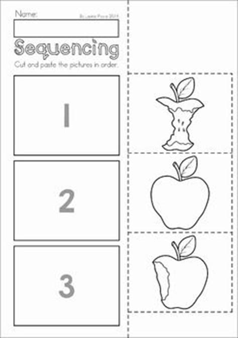 preschool sequencing games best 25 sequencing worksheets ideas on 392