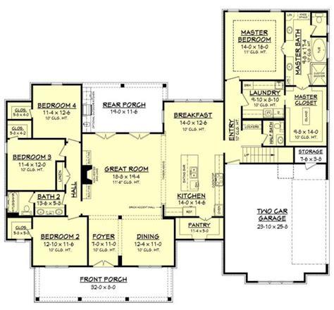 modern ranch house floor plans design  ideas