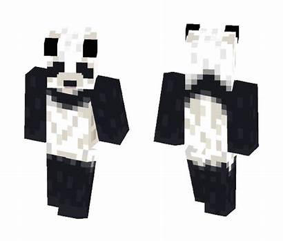 Panda Minecraft Skin Skins Superminecraftskins 3d