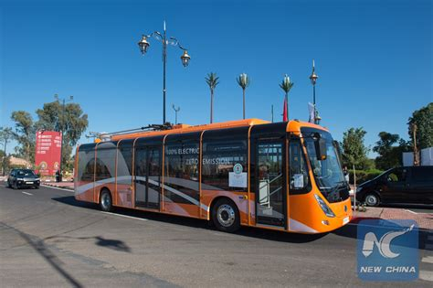 Electric Buses From China Serve Marrakech At Cop22
