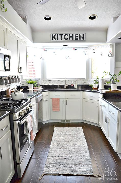 Kitchen Decor by White Kitchen Pink Kitchen Decor The 36th Avenue