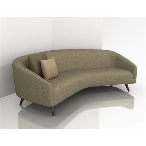 curved sofa ashley furniture small curved sofa small curved sectional sofa couch foter