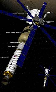 Manned Mars Spacecraft - Pics about space