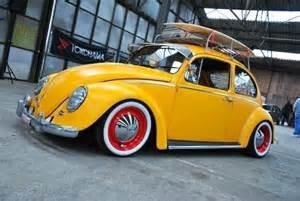 Yellow VW Beetle Car
