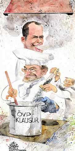 cuisine nouvelle oliver schopf politische karikatur österreich parteien övp