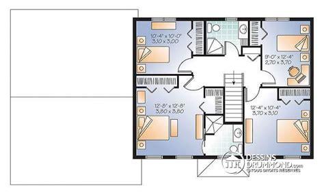 plan de maison à étage 4 chambres plan de maison 4 chambres gratuit