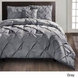 beautiful 4 pc modern grey textured comforter set king or queen new