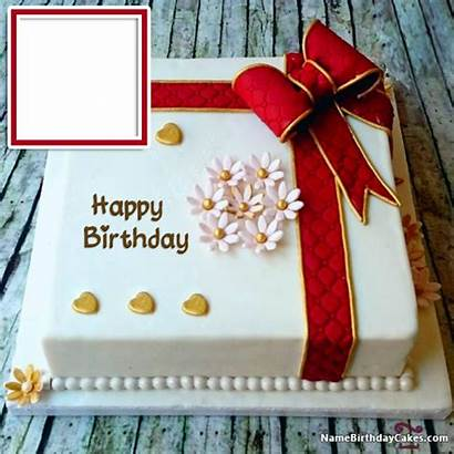 Birthday Happy Cake Cakes Wishes Friends Cards
