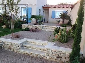 Jardin Paysager Exemple : jardin d nivel paysagiste bordeaux ~ Melissatoandfro.com Idées de Décoration