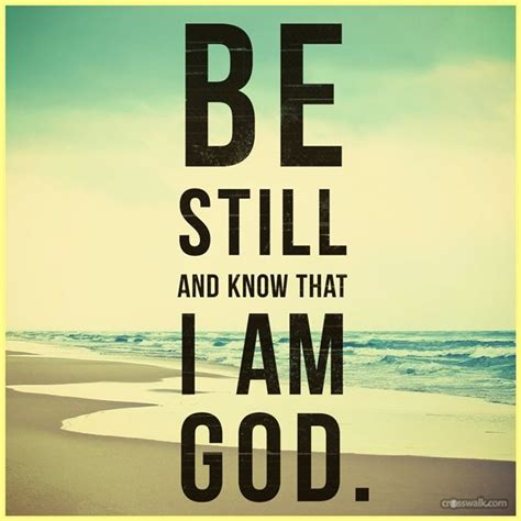 In 2007, this site became the largest christian lyrics site on the entire internet. Be Still and Know that I Am God #inspirations #faith   Inspirations   Pinterest   Faith ...