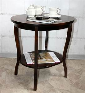 Couchtisch Holz Rund Oval : massivholz tisch beistelltisch teetisch oval 57 holz massiv kolonial ~ Frokenaadalensverden.com Haus und Dekorationen