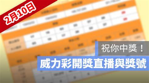 樂透首頁 加入會員 會員登入 我的最愛 常見問題 公益團體. 2/10 威力彩開獎直播:台灣彩卷威力彩樂透開獎號碼與直播看這裡 - 蘋果仁 - 你的科技媒體