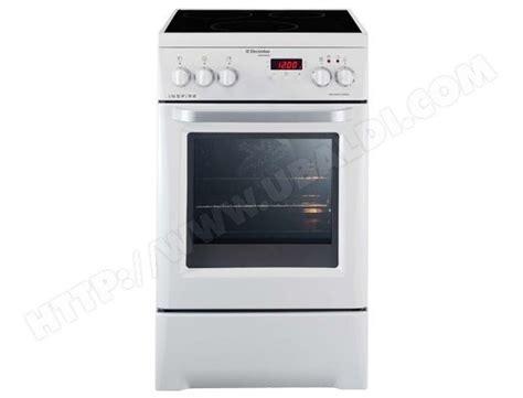 cuisine multifonction electrolux ekd513500w pas cher cuisiniere induction