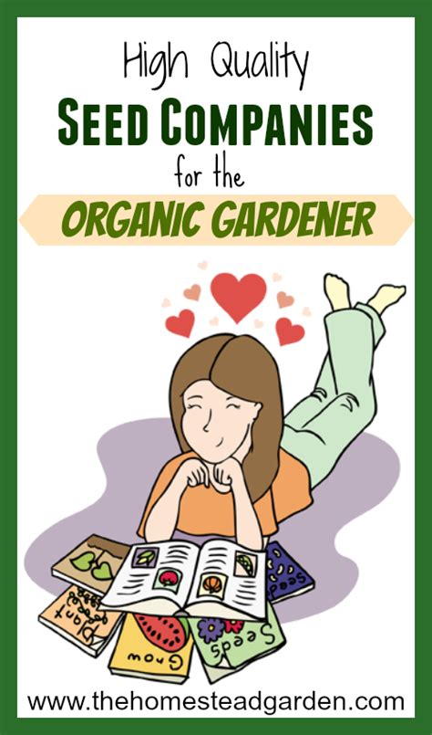 high quality seed companies for the organic gardener the