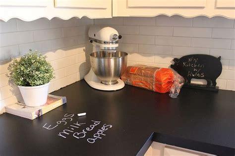 can you paint kitchen countertops chalkboard countertops hometalk