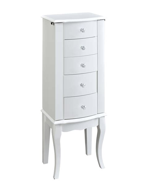 Sears Jewelry Armoire by L Powell White Jewelry Armoire
