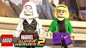 LEGO Marvel Superheroes 2 - Spider-Gwen Free Roam Gameplay ...