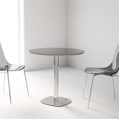 table cuisine en verre table de cuisine ronde en verre petit espace circus 4