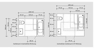 Barrierefreies Bad Maße : barrierefreie b der nach din 18040 2 ma e grundrisse ~ Frokenaadalensverden.com Haus und Dekorationen