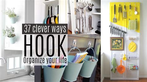 Long Kitchen Curtains 37 Organizing Ideas With Command Hooks Youtube