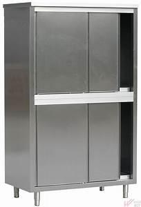 Armoire Rangement Cuisine : armoire de rangement inox pour cuisine vivier mcp ~ Teatrodelosmanantiales.com Idées de Décoration