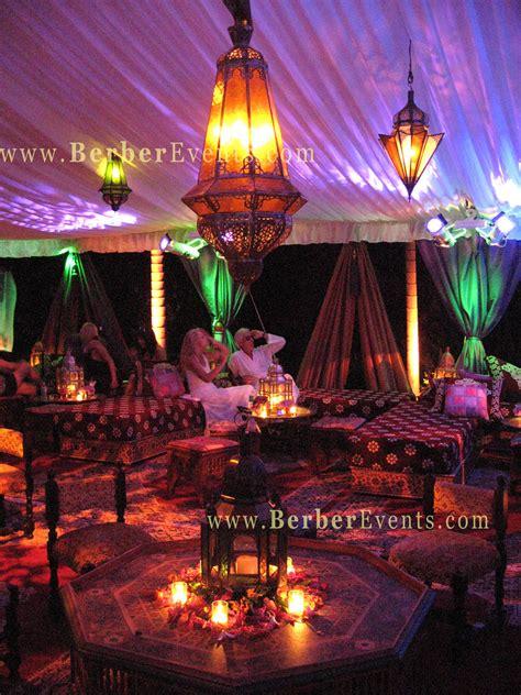 moroccan tent wedding moroccan theme wedding  berber
