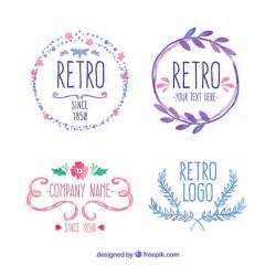 Retro Logo Badge Vectors