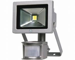 Led Strahler Innen : led strahler mit sensor grau mit leuchtmittel 700 lm 6500 k tageslichtwei 180x115 mm lumak pro ~ Markanthonyermac.com Haus und Dekorationen