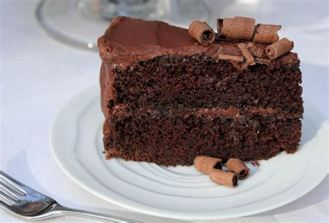 moist chocolate cake  chocolate buttercream frosting