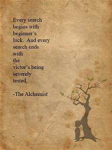 Inspirational Quotes From The Alchemist. QuotesGram